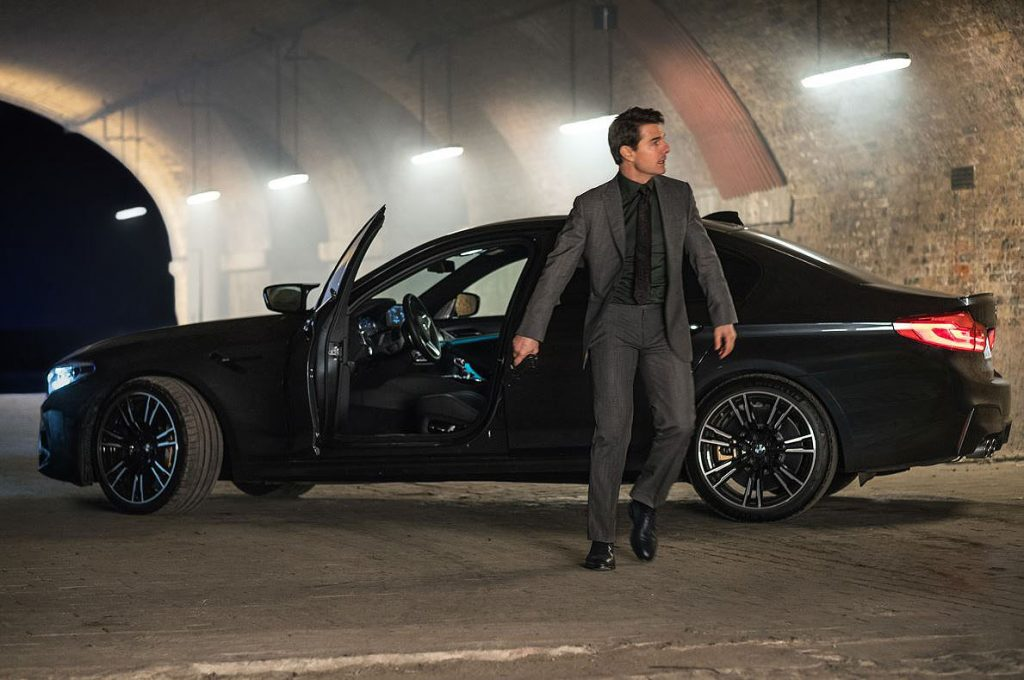 BMW M5 Graces the Set of Mission Impossible 7