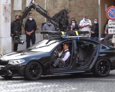 BMW M5 Graces the Set of Mission Impossible 7
