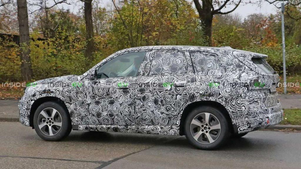 2023 BMW iX1 Spy Shot