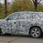2023 BMW iX1 Spy Shot