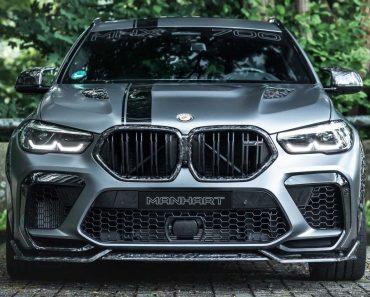 BMW X6M - Tuning by Manhart